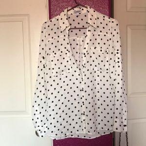 Express Portofino blouse in Medium